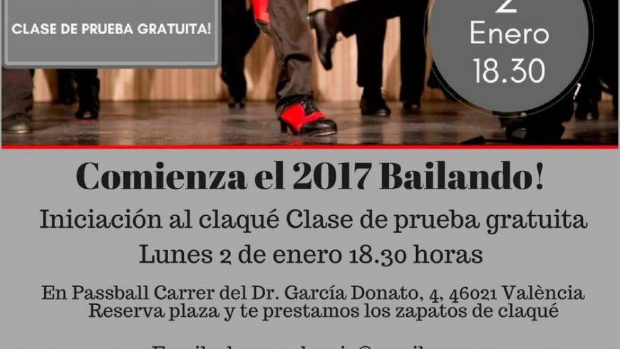 Comienza el 2017 bailando! te invitamos a probar sin cargo una clase de iniciación al claqué