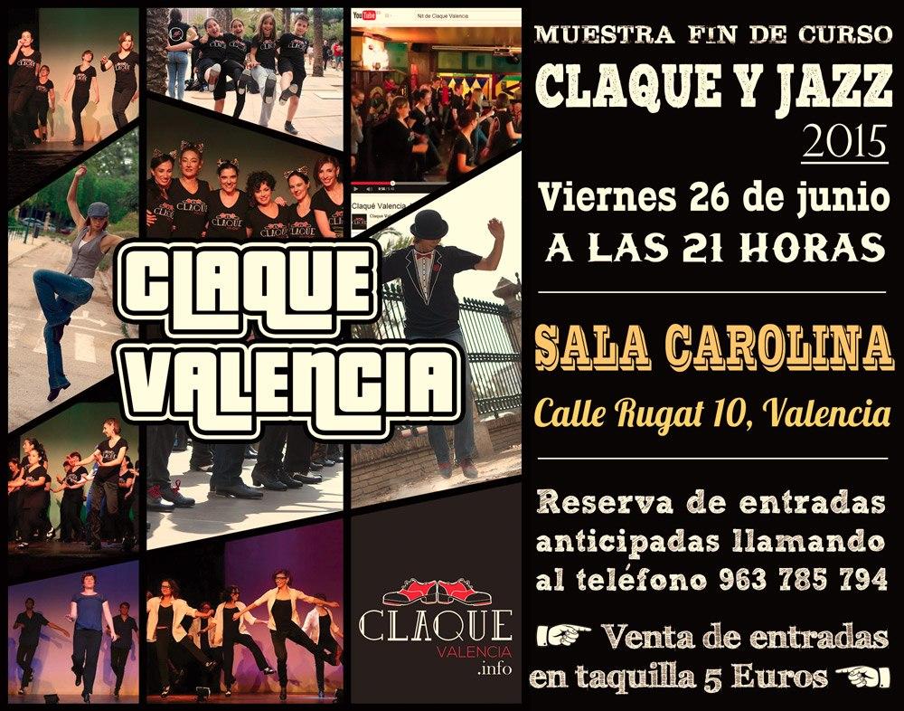 Festival fin de curso 2015 de Claqué Valencia
