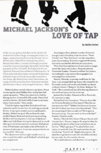 El amor de Michael Jackson por el claqué