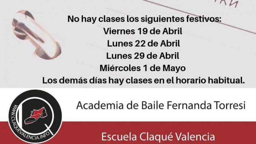 Nuestra academia de baile en Valencia no se va de vacaciones