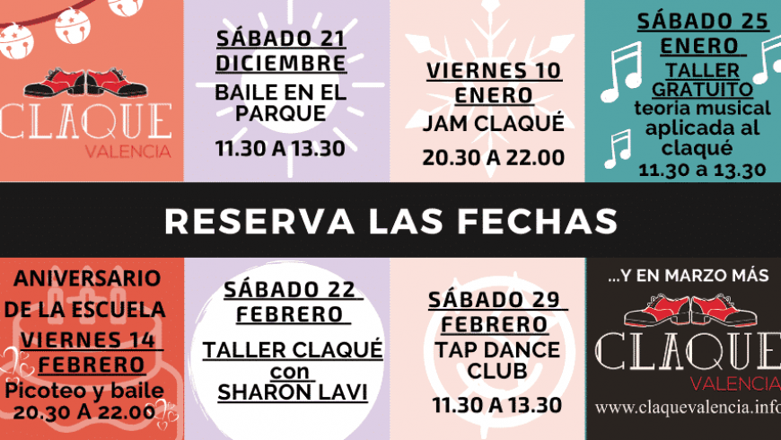 Una Navidad llena de actividades de baile en Valencia