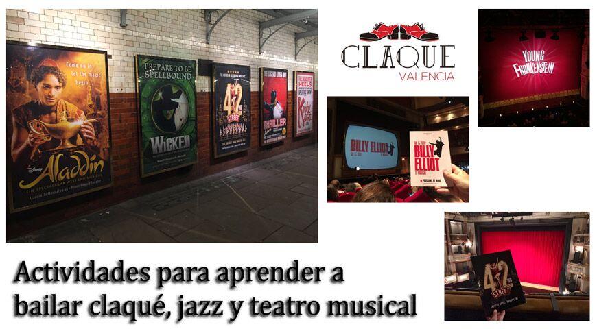 Actividades para aprender a bailar claqué, jazz y teatro musical