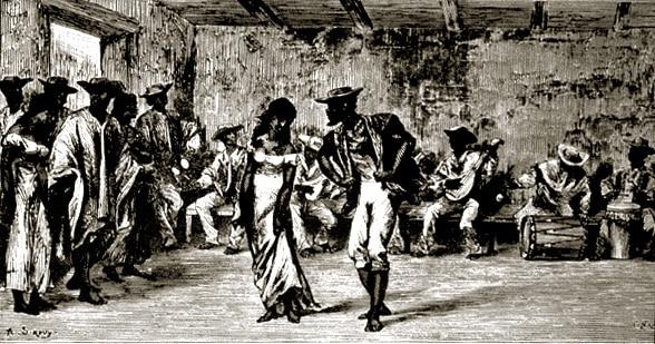 Baile tap dance esclavos