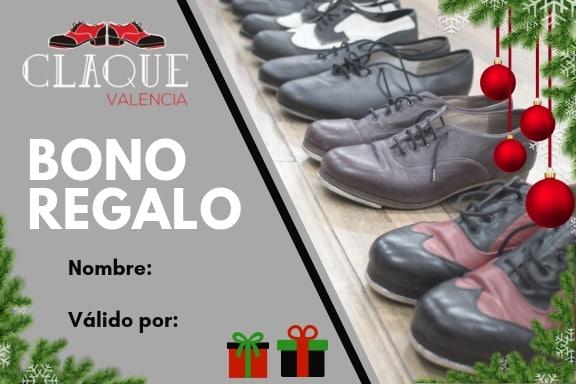 Bono regalo Claqué Valencia