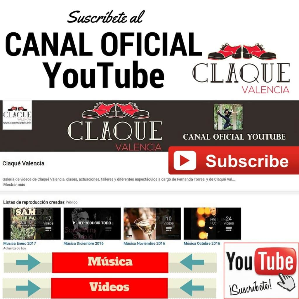 Claqué Valencia Canal Youtube