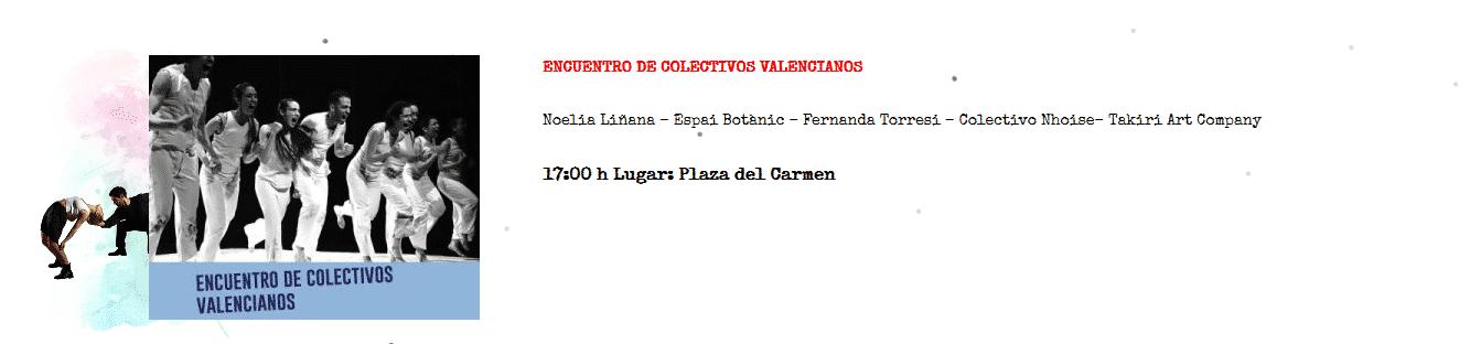 Compañía Claqué Valencia en Encuentros colectivos valencianos