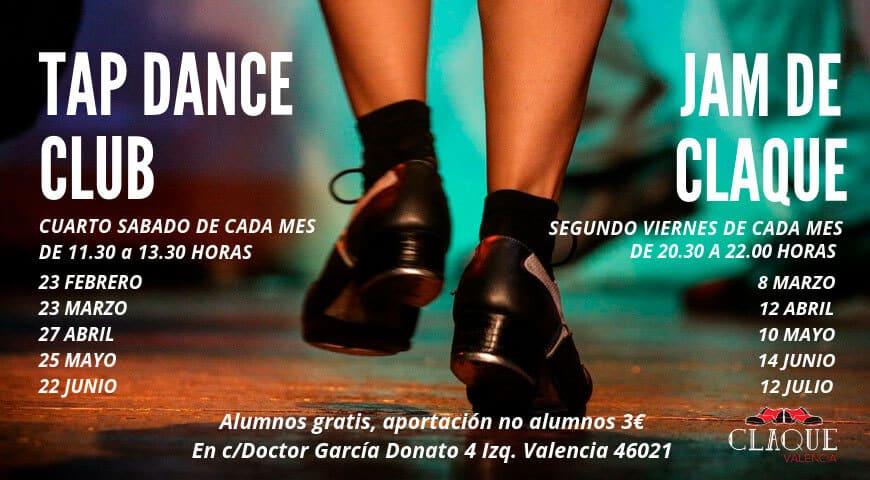 Próximas actividades de baile: Tap Dance Club