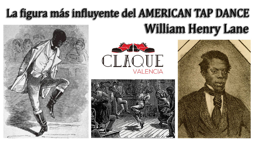 William Henry Lane en Claqué Valencia