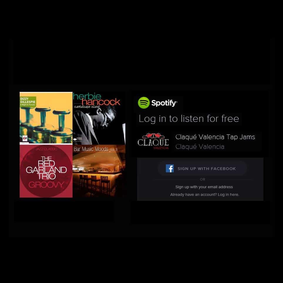 Claqué Valencia Tap Jams en Spotify