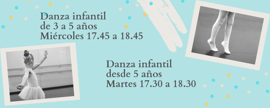 Clases danza infantil Valencia