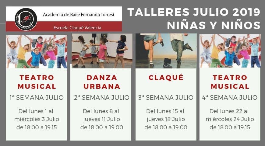 Clases de baile para niños en Valencia