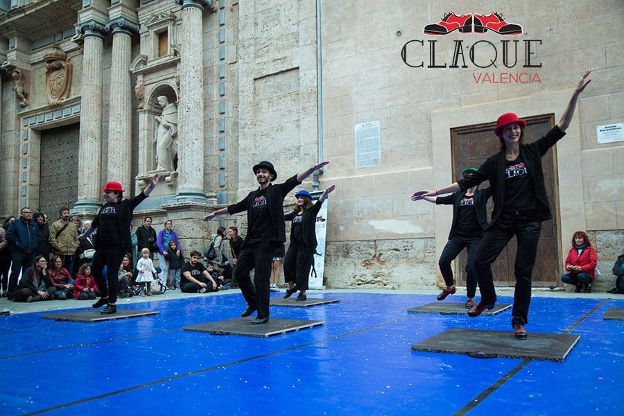 ¡La compañía Claqué Valencia en la Gala del Deporte y otros eventos al aire libre!