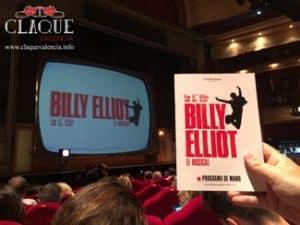 La escuela Claqué Valencia en el musical Billy Elliot