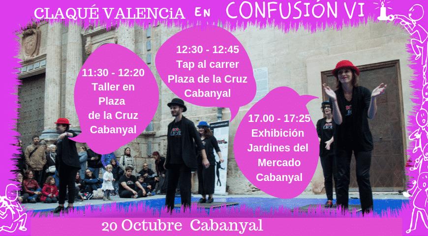Claqué Valencia en Confusión VI Cabanyal