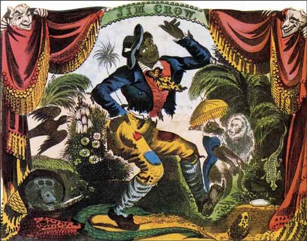Historia del baile tap: Jim Crow