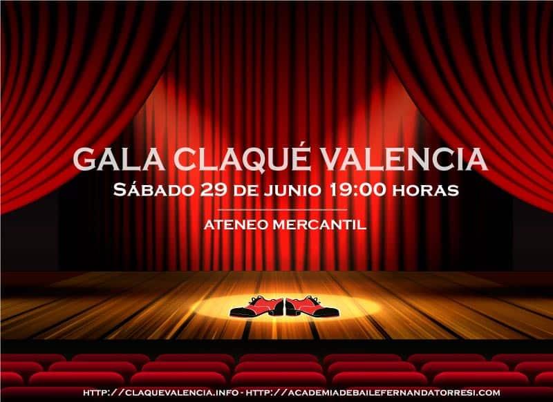 Gala fin de curso Claqué Valencia