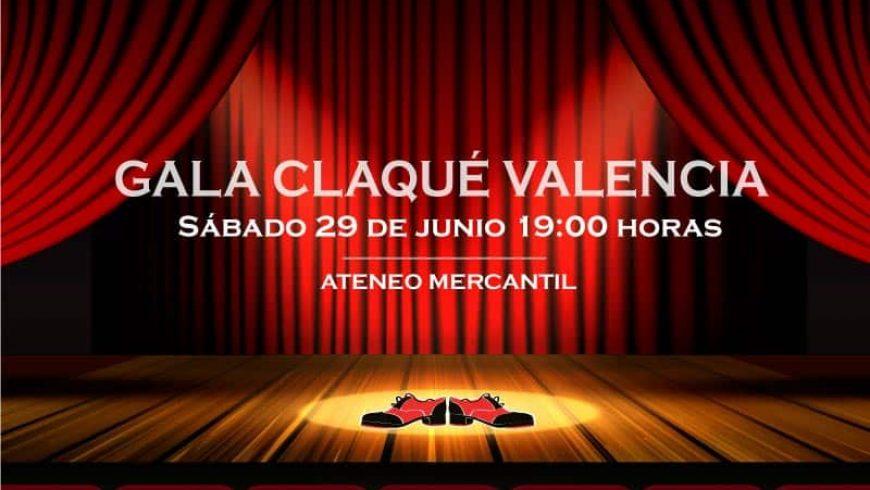 ¡Ven a la Muestra Fin de Curso Claqué Valencia 2019!