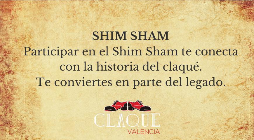 Shim Sham baile claqué Valencia