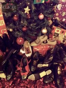 Zapatos y Árbol de Navidad 2014 de Claqué Valencia