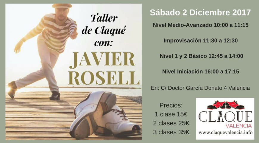 Taller de Claqué con Javier Rosell
